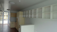 Office container house/ prefabricated steel frame house/ prefab wooden house