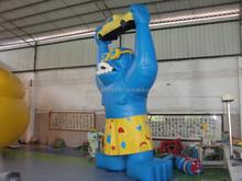 Giant Inflatable Cartoon , PVC Tarpaulin Inflatable Gorila for Advertising