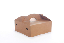 empty carton paper fruit packing box for fruit without printing