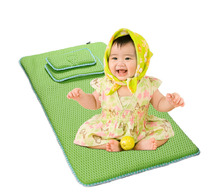 100% Recycled polyester knitted 3d air mesh fabric mattress for kids