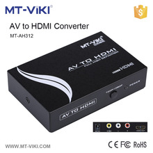 MT-AH312 OEM custom made hdmi scaler mini rca to hdmi av to hdmi converter