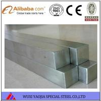 Gold supplier of 316L stainless steel square bar standard ASTM