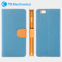For Apple iPhone 6S Case, Leather PU Painted Folio Flip Wallet Covers Case For iPhone 6S, For iPhone 6S Fold Stander Case