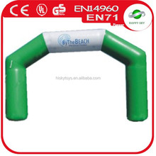 HS 2015 Colorful pvc/nylon inflatable animals,balloon arch frame,inflatable christmas arch