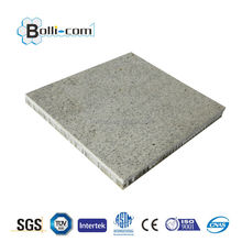 High grade furnishing and decorations materials stone aluminum honeycomb composite panel