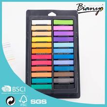 Recién llegado de la tiza del Color del pelo Mix 12/24 colores temporal pelo del tinte del Color en colores Pastel de la tiza