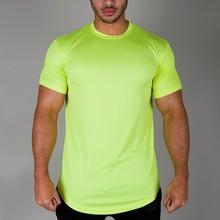 bright polyester round hem sports blank dri fit t-shirts wholesale