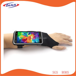 New products 2016 cell phone Lycra sport armband case for iPhone 6