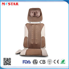 portable neck and back massage cushion for home or car