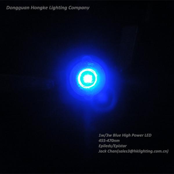 1w Blue 450nm 455nm 460nm 465nm 470nm High Power LED Diode.jpg