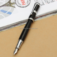 Best Promotion Brand New Classical Fountain Pen Famous Style Black Color Fine Nib Size Comfortable for Hand Smooth Writing
