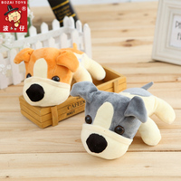 In stock! 18cm dog puppy plush toys soft stuffed toys, cute stuffed animals toys baby doll promotion gifts
