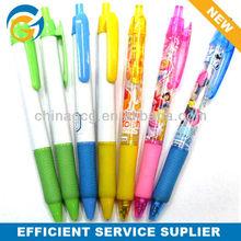 Cartoon Princess Plastic Click Ball Pen