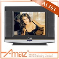 China made small color crt tv in india
