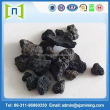 Grinding lava pumice stone