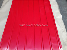 GI/GL Corrugated Steel Plate/Sheet for Roofing, Walls, Ceiling, with 30-275 Zinc Weight, with RAL K7 Color Series