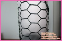 """1/4"""" Vinyl coated hex netting chicken wire cages"""