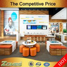 Custom mobile phone store interior design in U.S.
