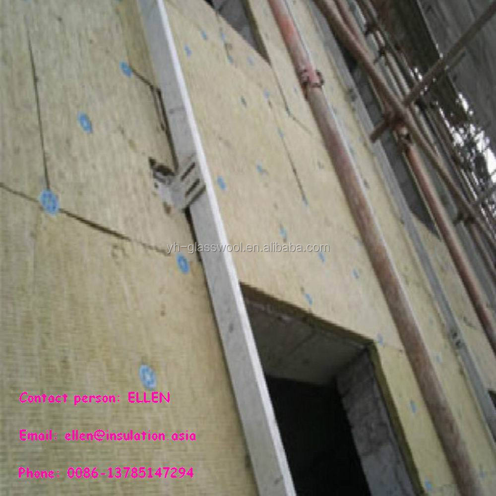 Rock wool insulation rock wool board mineral wool for wall for Mineral wool board insulation price