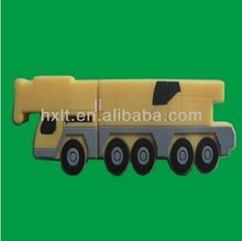 hotest selling high quality material the truck van car shape usb2.0 flash drive 8gb 64gb