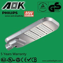 UL DLC TUV SAA 35-300w Meanwell Driver LED Street Light With Philips Chip,5 Years Warranty Solar LED Street Light
