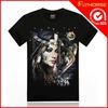 Wholesale high quality custom magic print polo t-shirt