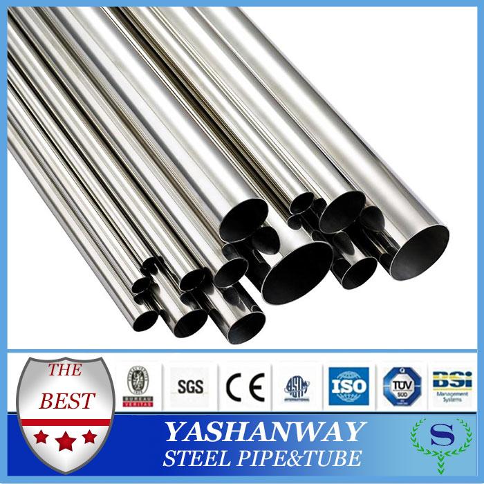 Ysw 202 grade 1 polegada oco tubo de aço inoxidável Hexagonal