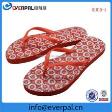 colorful rubber flip-flops