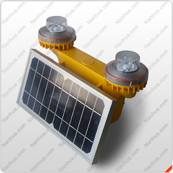 NANHUA LT602U airport runway solar powered double led beacon light
