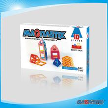 Magnetic building panels 2D 3D puzzle educational children toy