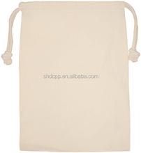 Designer Crazy Selling drawstring linen canvs bag
