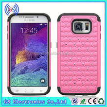 Cheap beautiful fashion design Bling Diamond 3 in 1 Silicone&PC mobile phone cases for Blackberry 9900