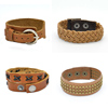 top sell cheap magnetic leather bracelet