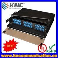 48ports front and rear sliding fiber optic termination box
