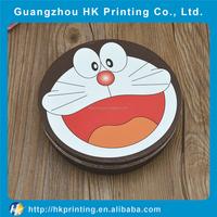 Custom wholesale cardboard round hat box with pattern printed