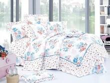delicate flowers 100% cotton bedding set
