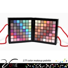 New Cosmetics Professional 177 Color Makeup Palette Set Kit: Eyeshadow, Cream Eyeshadow, Lip Gloss, Concealer, Blush, Brow Shade