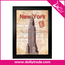 Customize Plastic Abstract Arting Printing of The Empire State Building