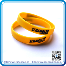 2015 party goods great quality silicone bands promo gifts