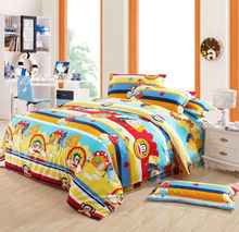 twin size kids cartoon wholesale comforter bedding set