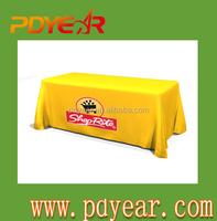 Tablecloth with custom logo by Yoko