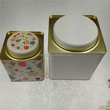 green tea tin for packaging