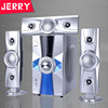 Factory price sound system , 3.1 active bluetooth speaker with led light, professional powered subwoofer dj home speaker