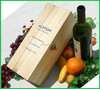 Factory Direct Sale Nice Wine Gift Box Wooden Wine Packaging