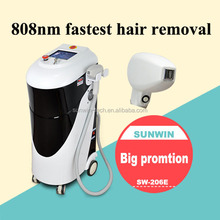 hot newest big spot size 808nm diodes laser hair removal product