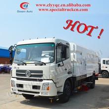 DongFeng High quality! 4x2 mechanical road sweeper, road sweeping vehicle, used right hand drive vehicles for sale