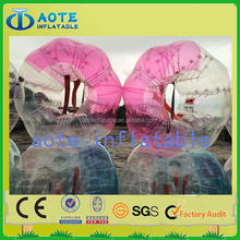 Good quality hot selling popular inflatable water body zorb ball