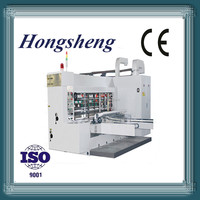Elegant high speed corrugated flexo printing grooving machine die-cutting machine (lead edge feeding)