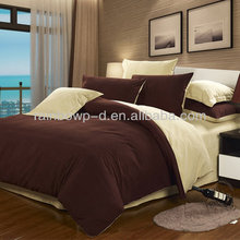 polycotton solid color for bed sheet and duvet cover