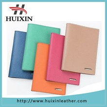 Unisex leather skin colored passport cover pu